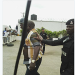 Fuel scarcity: Petrol station manager, assistant arrested for selling at high rates [PHOTOS]
