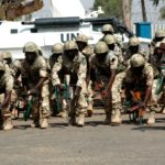 Troops kill4 terrorists discover dump pit
