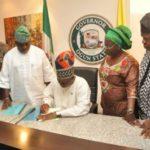 Amosun signs bill creating 37 LCDAs into law