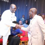 Why we are behind Buhari on new fuel price – Oshiomole, Kachikwu