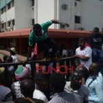 PDP chiefs meet as factional supporters clash at secretariat