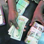 Nigerian naira tumbles 23%
