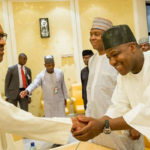 BREAKING: Buhari, Dogara in closed-door meeting