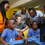 Facebook CEO in Nigeria, excited about technology drive