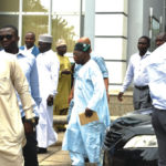 Confusion as Obasanjo is sighted at PDP event venue