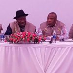 Jonathan arrives Zambia as leader of AU election monitoring group