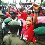 Chibok girls: Uproar as Buhari shuns protesters
