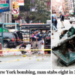Bomb explosion injures 29, man stabs eight in US