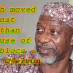 North moved against Jonathan because of oil blocs – Ofeimun