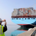 Maersk profit falls on low shipping prices