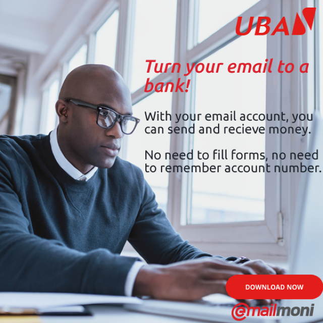 UBA email money