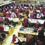 Nigerian stock index rises as bank shares gain