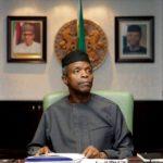 50 million Nigerians have no electricity, says Osinbajo