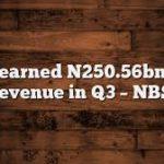 Govt earned N250.56bn VAT revenue in Q3 – NBS