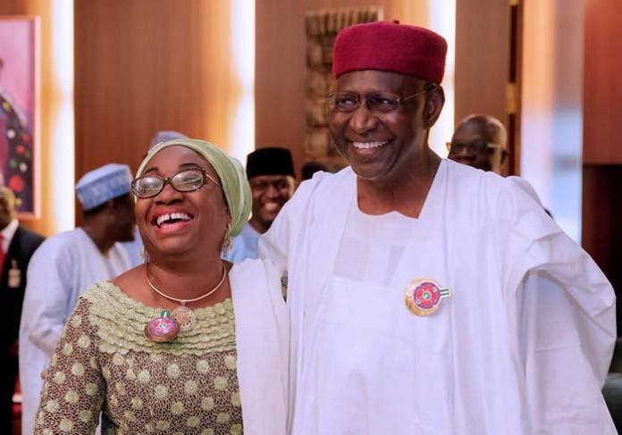 Maina: Kyari, Oyo-Ita reconcile, embrace publicly