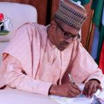 Buhari writes Senate for confirmation of 10 CCB nominees