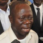"""Oshiomhole on defections: we are """"not perturbed by their move."""""""
