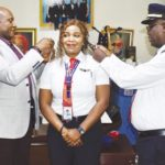 Air Peace decorates first woman captain