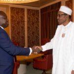 Buhari, Ambode meet in Aso Rock