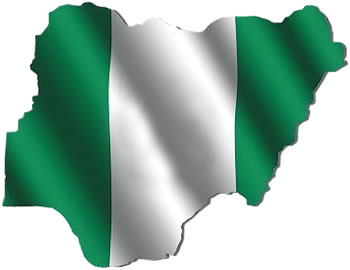 Nigeria-map-colour