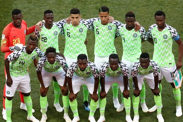 Nigeria now 48th in FIFA World ranking