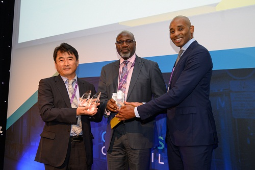 Samsung's Egina wins French project award