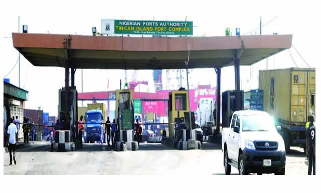 Lagos bars export, empty containers from Tin Can