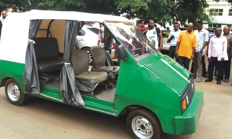 UNN Produces Nigeria's First Electric Car