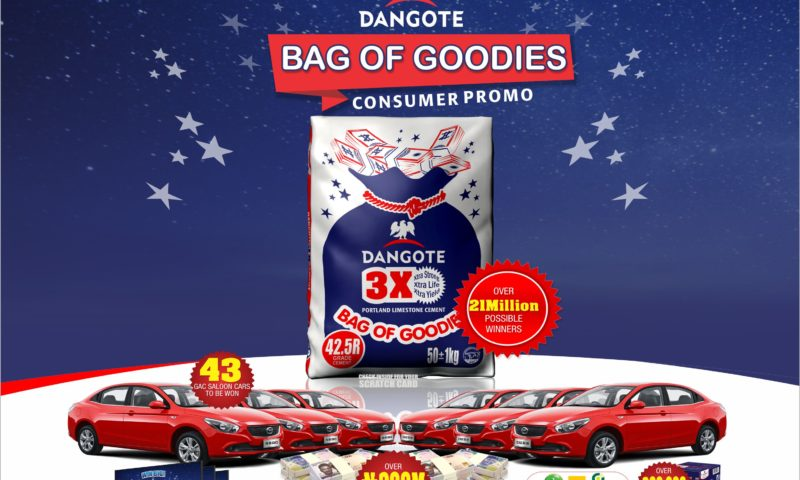 New Dangote Promo To Make 21 Million Cement Users Rich