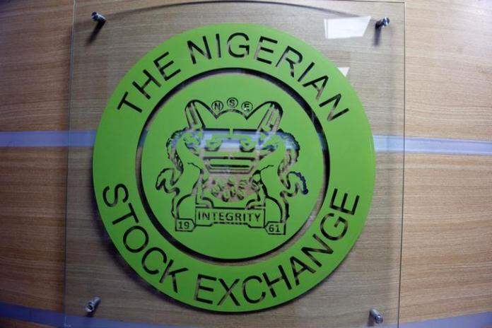 The logo of the Nigerian Stock Exchange is pictured in Lagos, Nigeria November 9, 2016.   REUTERS/Afolabi Sotunde