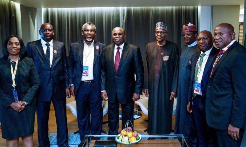 Buhari, Heritage Bank, Zamfara State, Others  Parley On Ssolid Mineral Development Boost