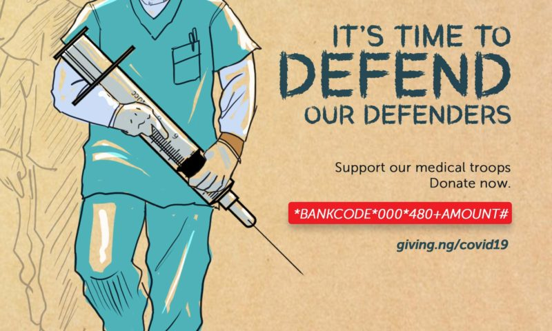 COVID-19: Giving.ng Announces Fund Raising To Support Frontline Health Workers