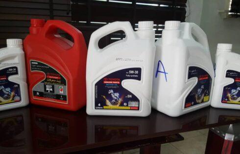 "SON Alerts On Substandard ""Toyota"" Brand of Engine Oil"