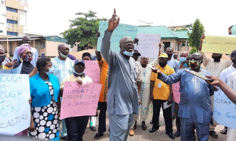 ARCN Staff Support Prof Sharubutu, Want Detractors To Back-Off