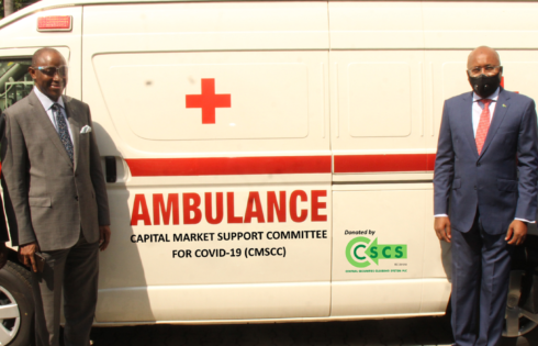 COVID-19: CSCS  Donates Ambulance, Cash Worth N100m To CMSCC