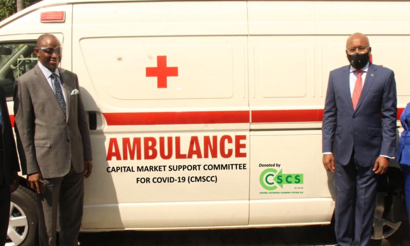 COVID-19: CSCS  Donates Ambulance, Cash Worth N100m To CMSCC