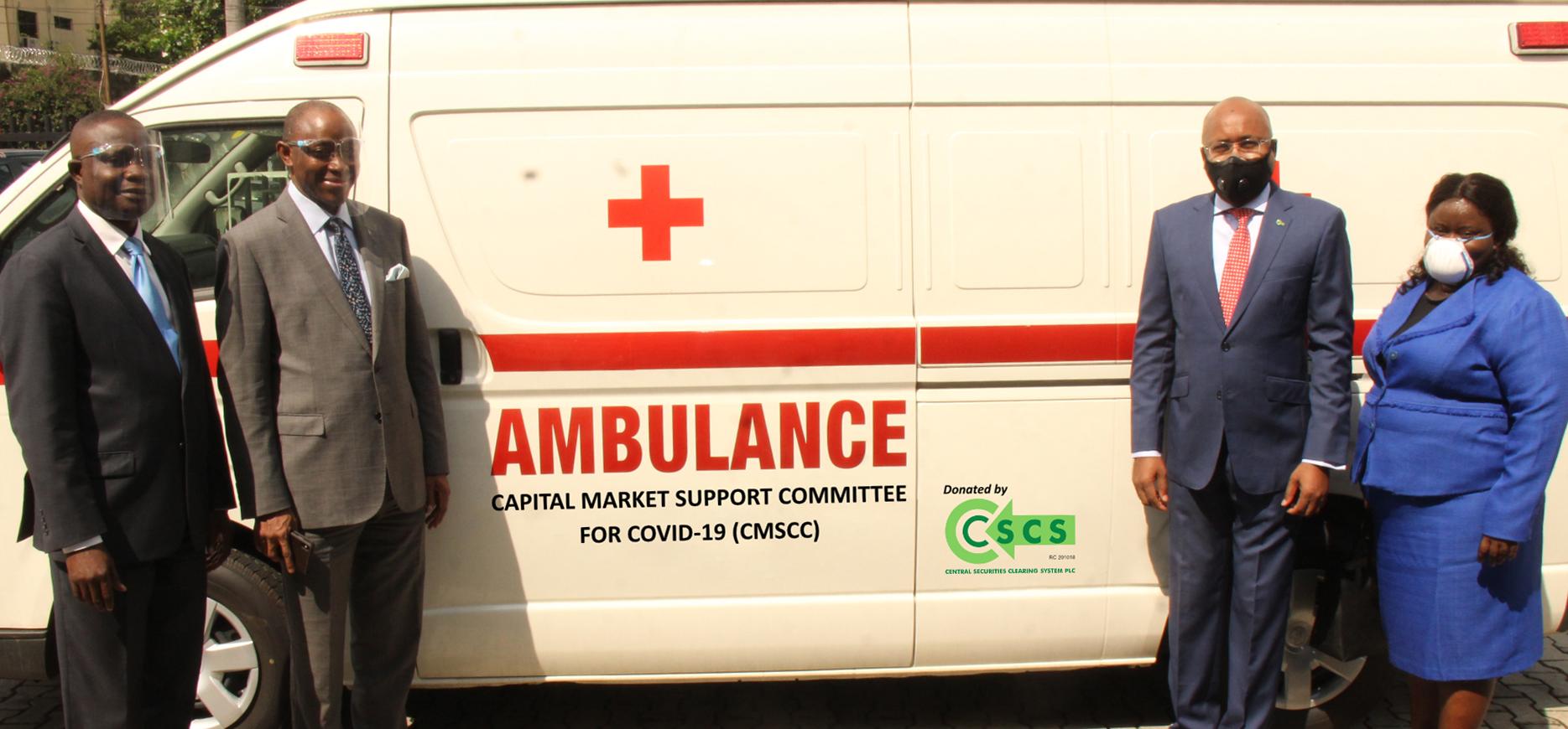 CSCS Ambulance Presentation to CMSCC