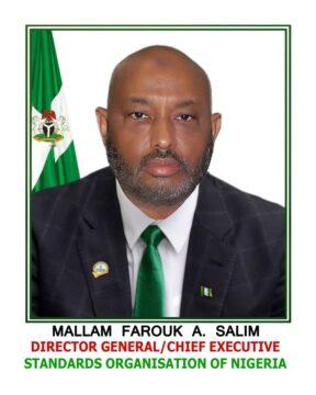 DG, SON, Farouk Salim