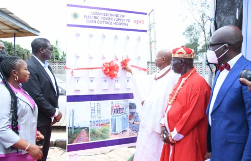 Seplat Energy Commissions Project For Power Supply To Oben Cottage Hospital